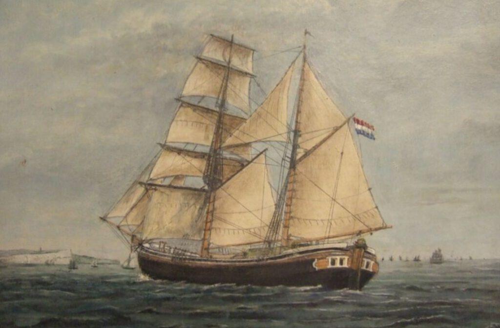Het kofschip 'De Harmonie'
