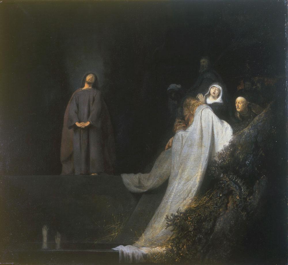Jan Lievens, de opwekking van Lazarus, 1631, Hove Museum and Art Gallery, Royal Pavillion & Museum Trust, Brighton and Hove
