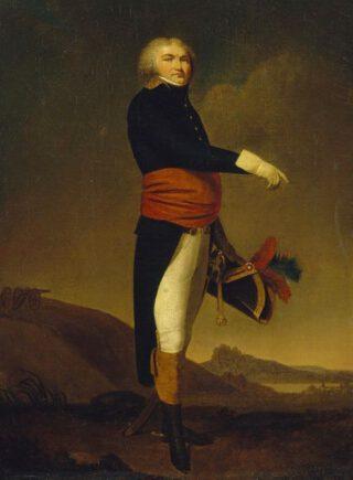 Jean-Baptiste Kléber als generaal - Schilderij van Louis-Léopold Boilly