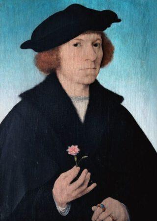 Joos van Cleve, zelfportret, ca.1519