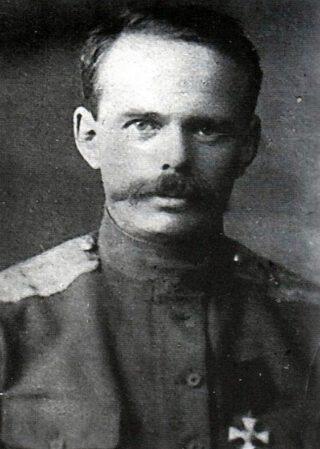 Roman von Ungern-Sternberg in 1916 of 1917