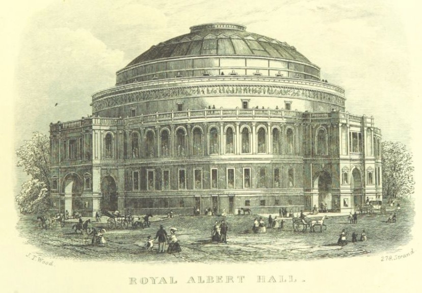 Royal Albert Hall in 1972