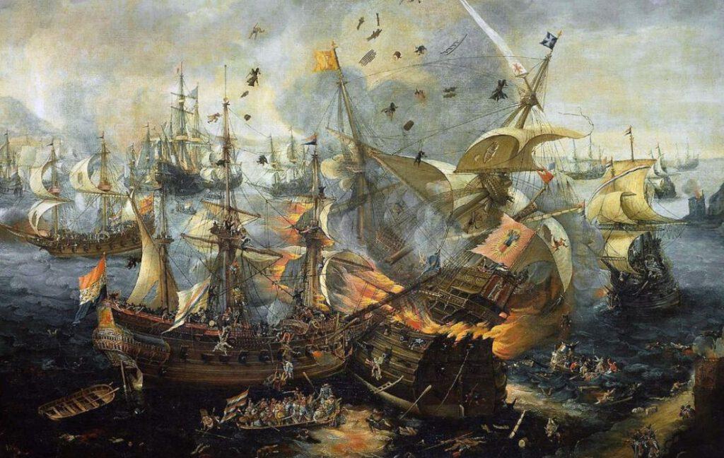 Zeeslag bij Gibraltar, 1607