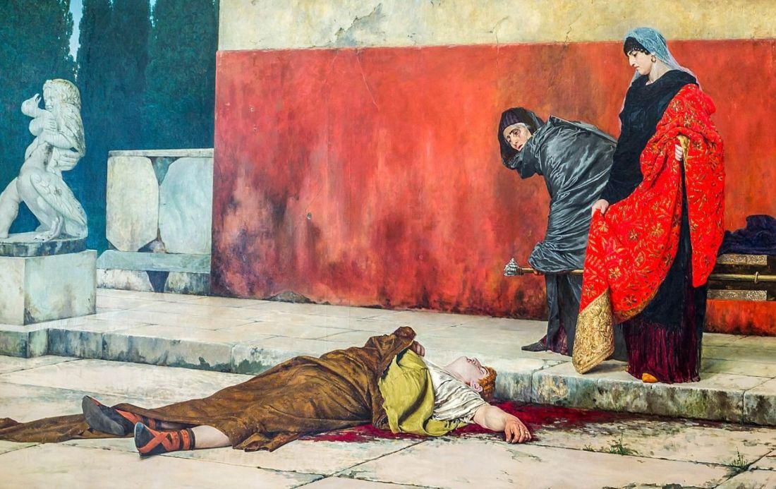 De dood van keizer Nero