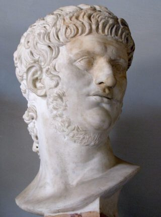 Buste van keizer Nero - Musei Capitolini, Rome