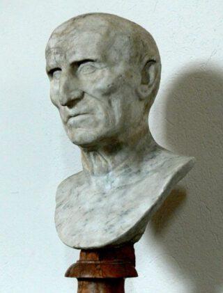Buste van de Romeinse keizer Galba