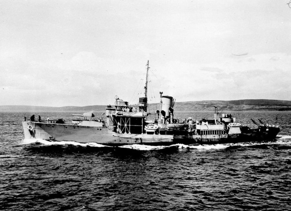 HMCS Alberni, tot zinken gebracht door de U 480