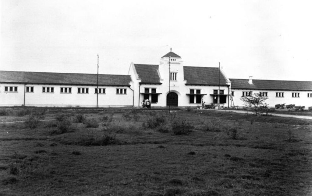De gevangenis te Malang op Oost-Java
