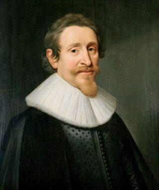 Portret van Hugo de Groot - Michiel van Mierevelt