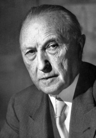 Konrad Adenauer, 1952