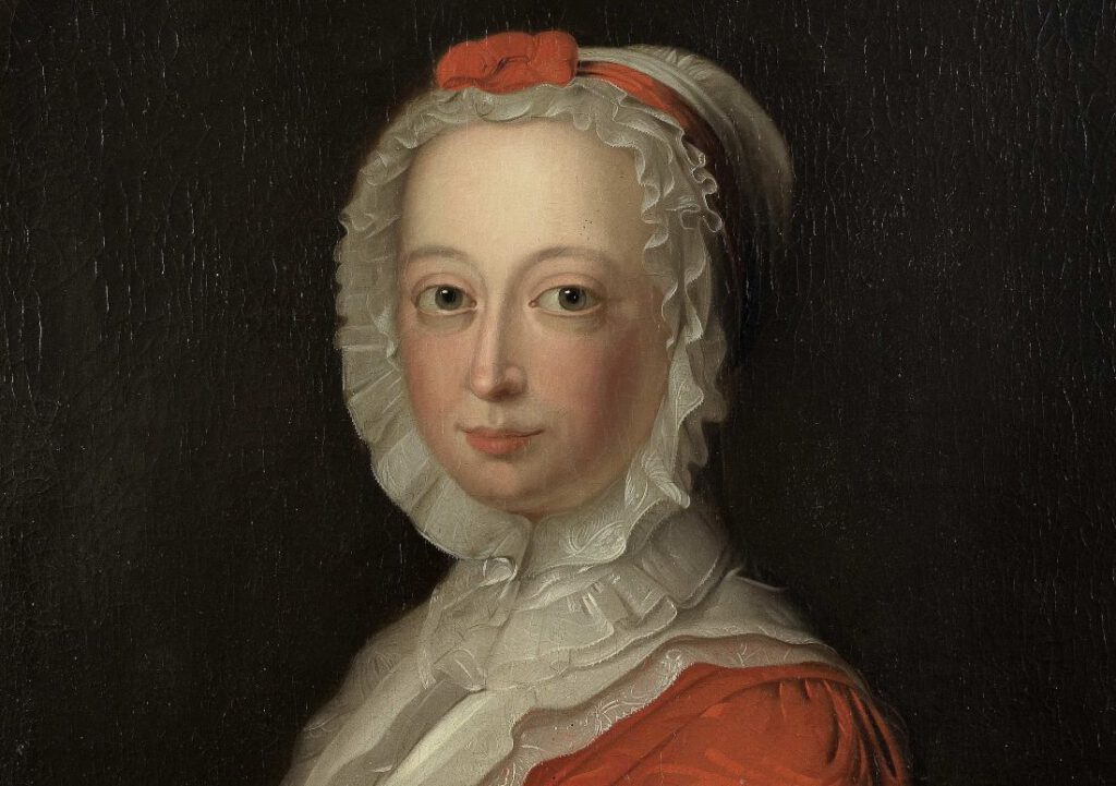Bernardus Accama, Anna van Hannover, prinses van Oranje, 1736, collectie Fries Museum