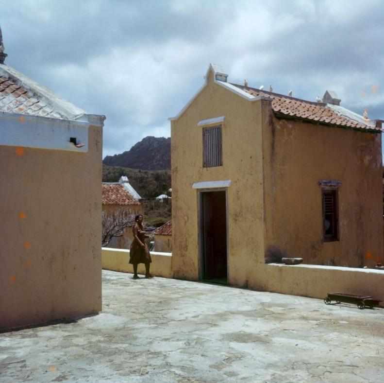 Woning van een slavenopzichter op Curaçao