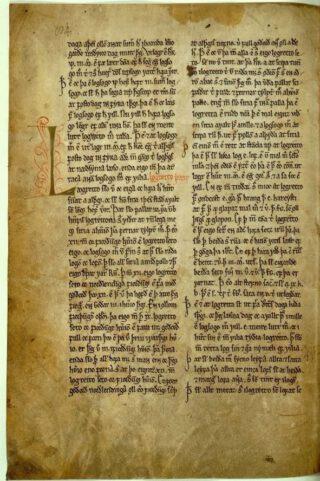 Deel van de Grágás uit 1157