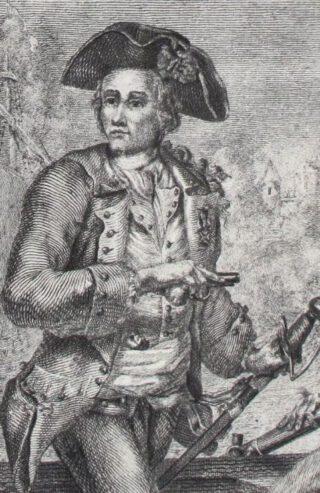 De Franse kaapvaarder Jacques Cassard