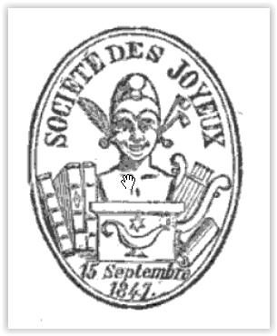 Logo van de Société des Joyeux