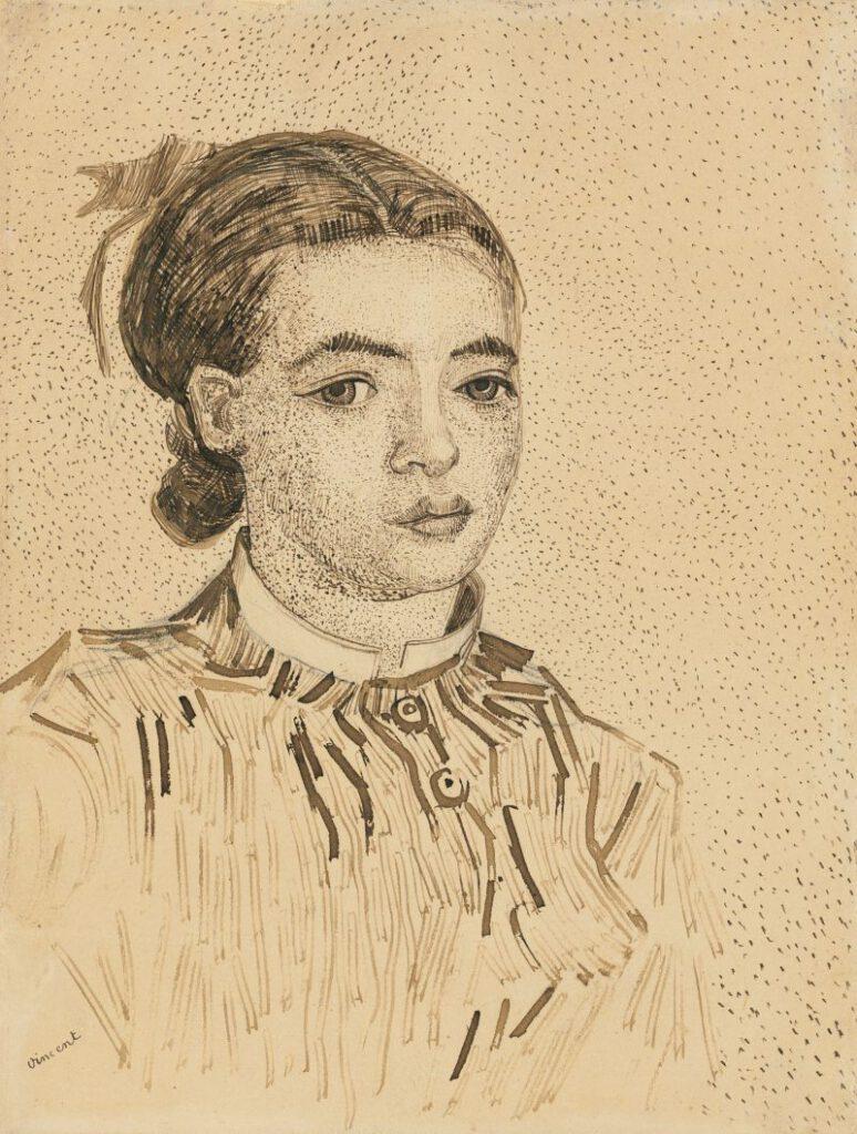 Mousmé - De tekening van Vincent van Gogh (Christie's)