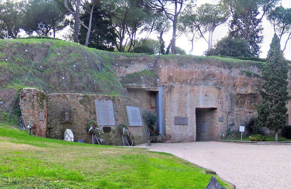 Toegang tot de Ardeatijnse grotten