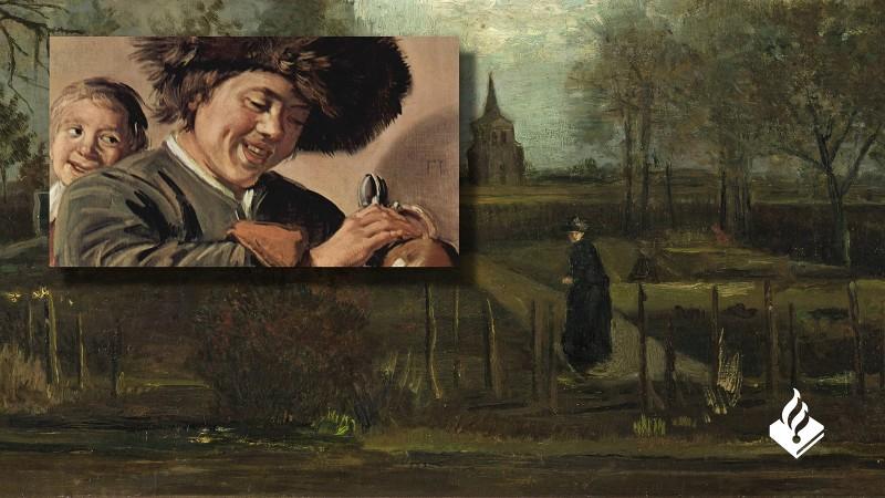 De twee gestolen schilderijen