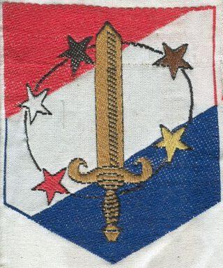 Embleem Troepenmacht in Suriname