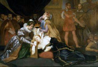Executie van Maria Stuart - Abel de Pujol