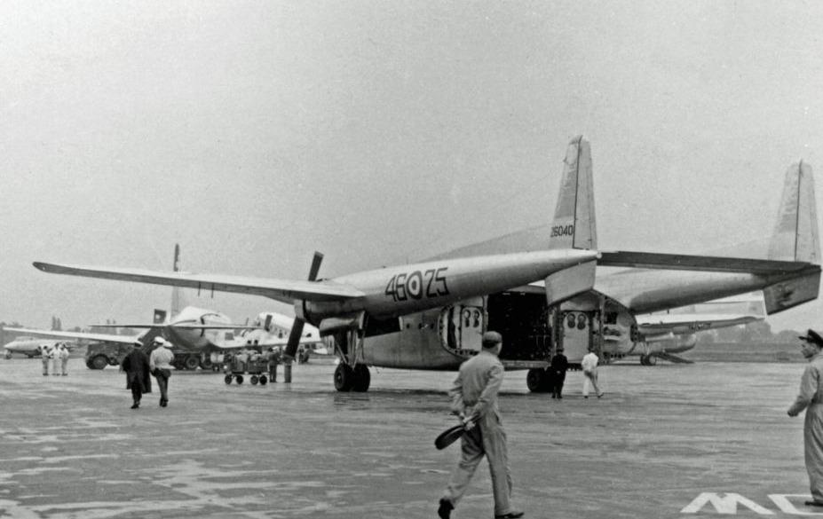 "Fairchild C-119G van de Italiaanse  ""46ste Aerobrigada"""