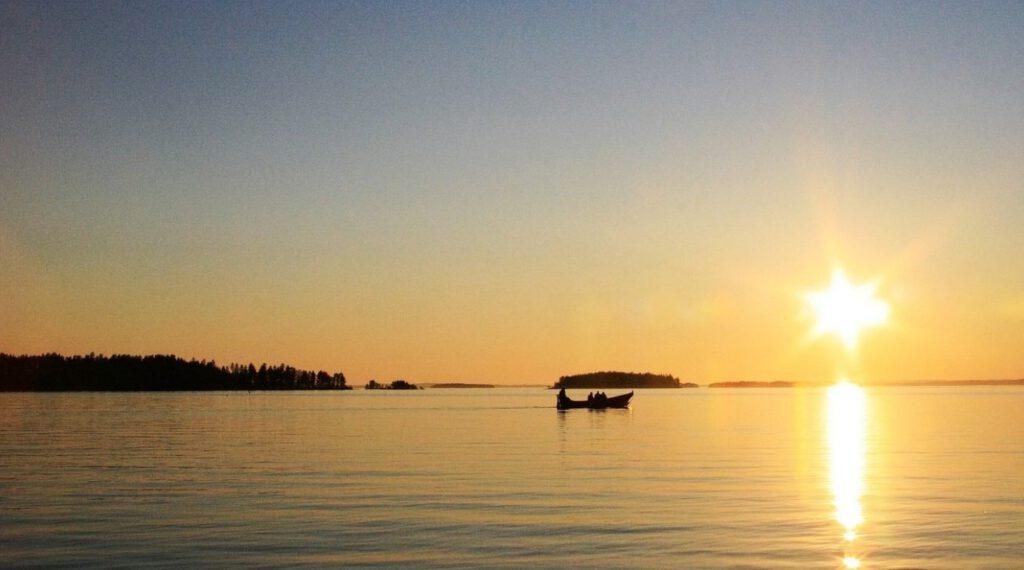 Finland wordt wel 'het land van de duizend meren' genoemd