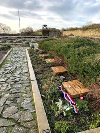 Het graf van Hannie Schaft op de Eerebegraafplaats in Bloemendaal