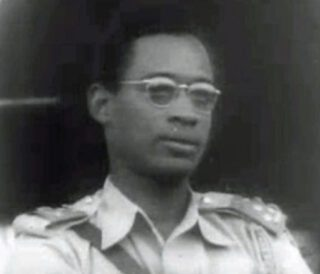 Joseph Desiré Mobutu in 1960
