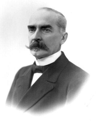 Kaarlo Juho Ståhlberg, de eerste president van Finland (1919 tot 1925)