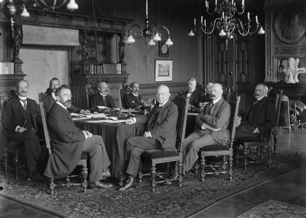 Ministerraad van het Kabinet-Ruijs de Beerenbrouck I, 1918