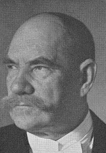 Pehr Ervind Svinhufud - Ook bekend als 'Ukko Pekka' ('Vader Peter').