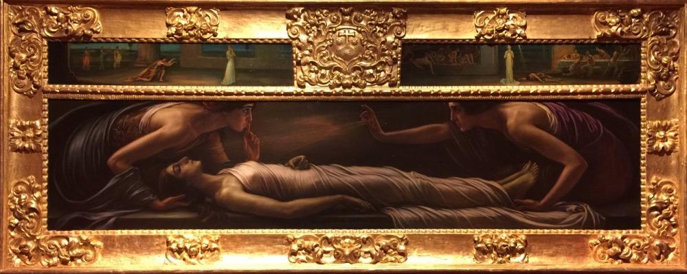 Retablo de la muerto de Santa Inés Julio Romero de Torres
