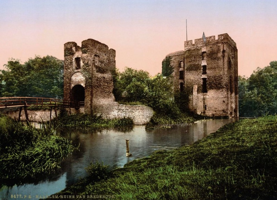 Ruïne van Brederode, 1900