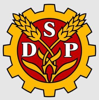 Traditionele embleem van de Finse Sociaaldemocratische Partij