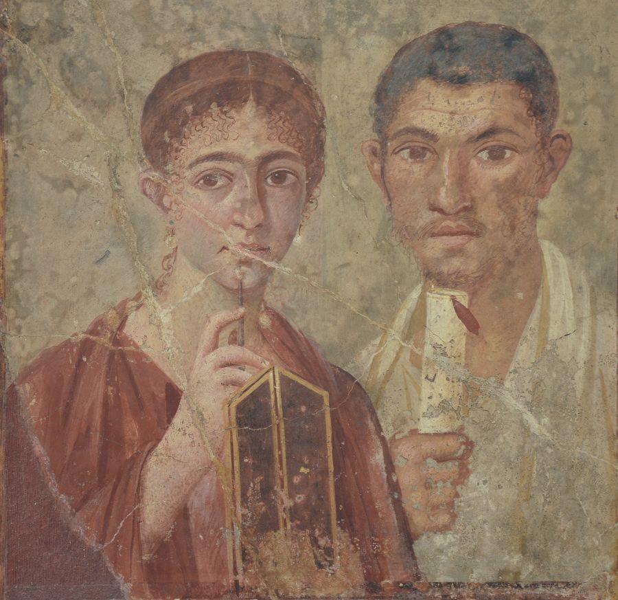 Terentius Neo en zijn vrouw, Huis van Terentius, Pompeii