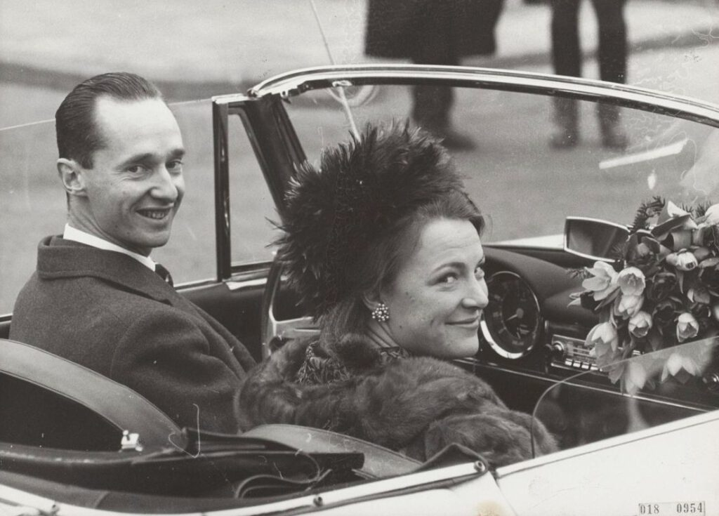 Prinses Irene en Carlos Hugo, 10 februari 1964
