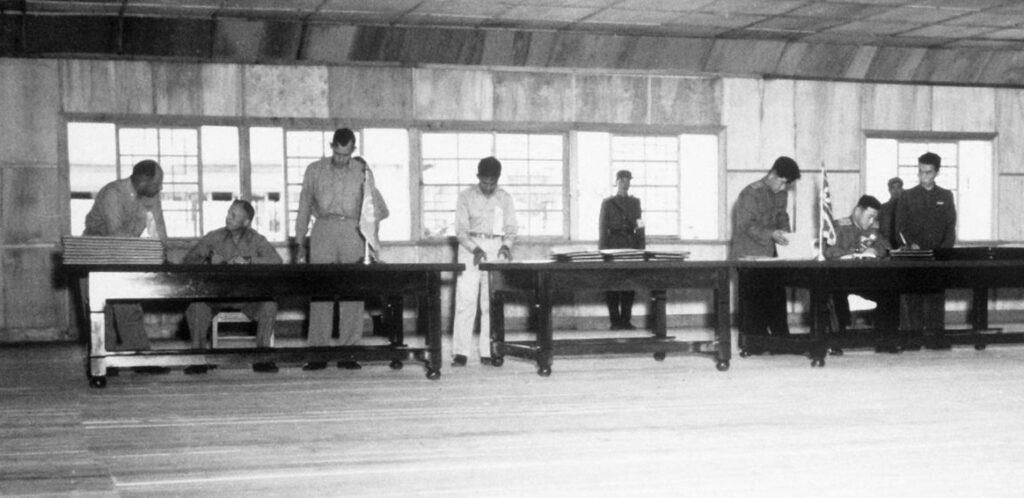 Wapenstilstand Koreaanse Oorlog, 1953