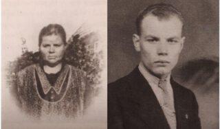 Moeder Geertje en zoon Jochem