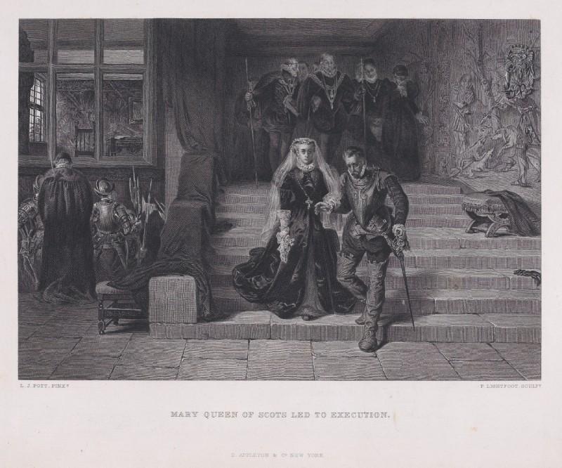 Maria Stuart onderweg naar de executie