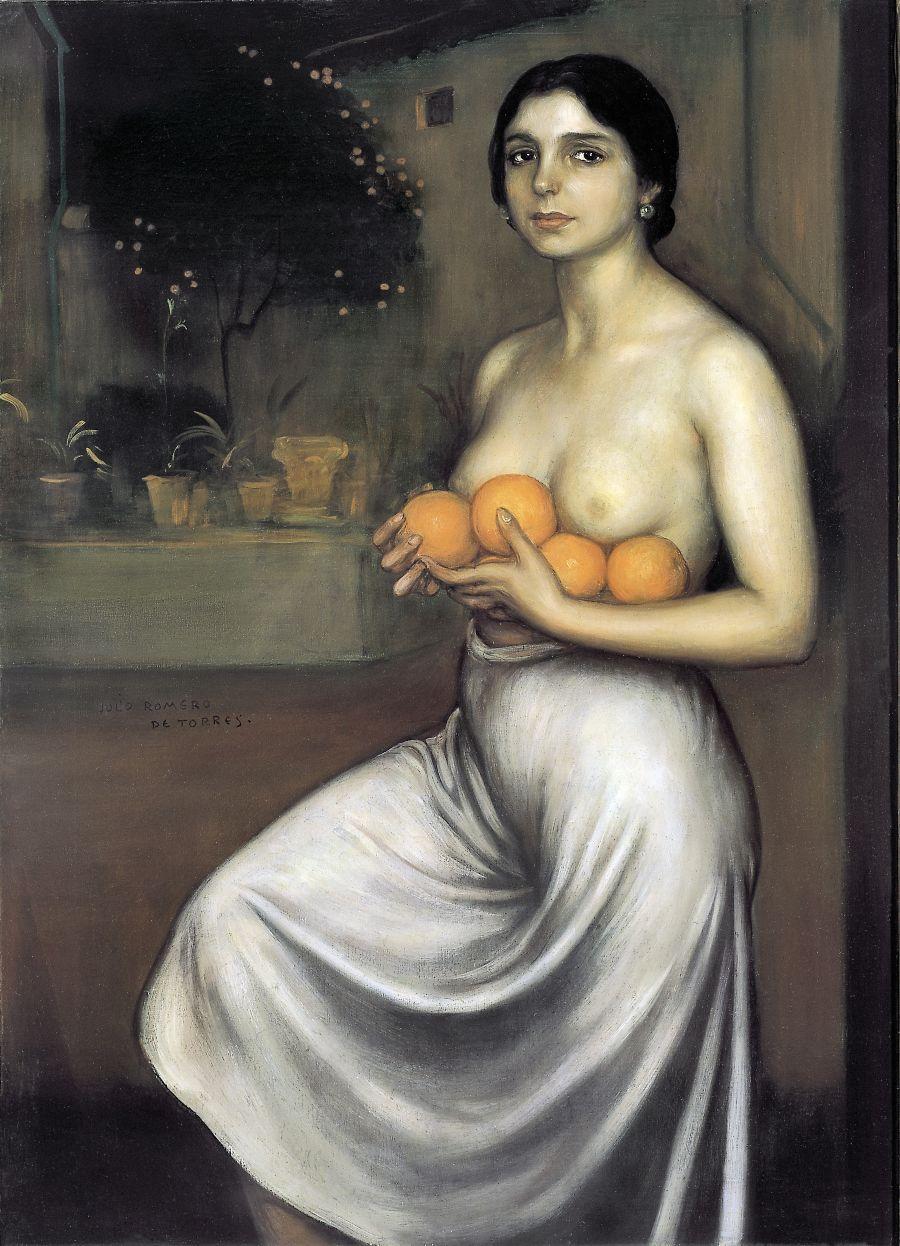 Naranjas y limones - Julio Romero de Torres