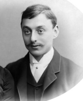 Een jonge Anton Kröller, ca. 1888