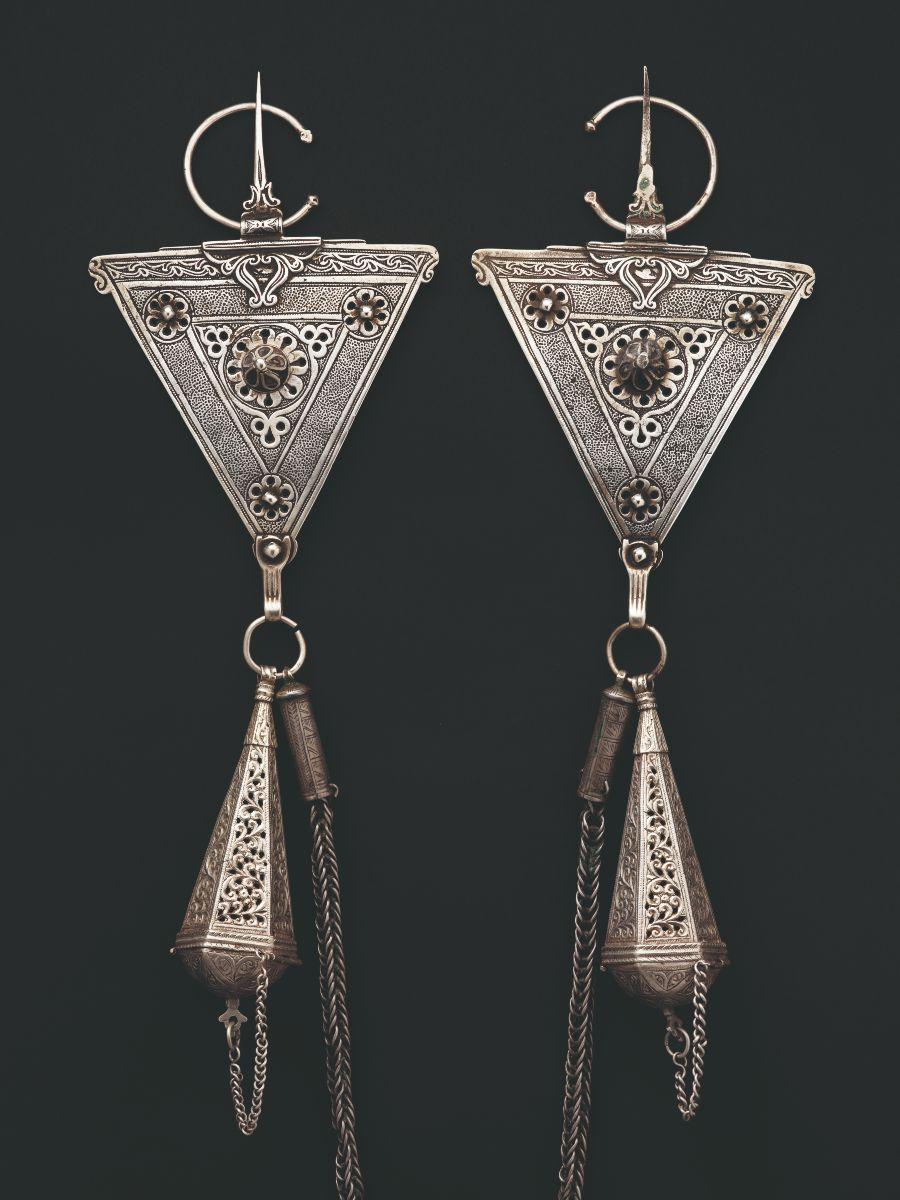 Foto uit 'Berber Memories – Women and jewellery in Morocco' (Yale University Press)