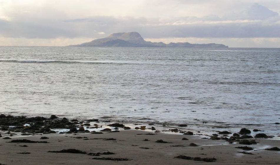 Zicht op Clare Island