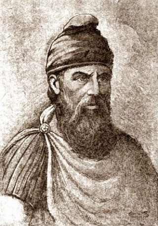 De Dacische koning Decebal