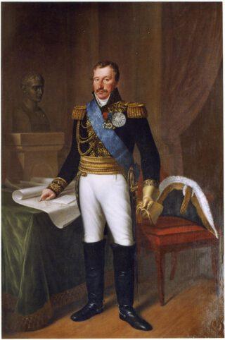 Dirk van Hogendorp als gouverneur van Hamburg