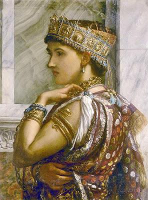 Zenobia, koningin van Palmyra door Sir Edward Poynter (1878) (Publiek domein/wiki)