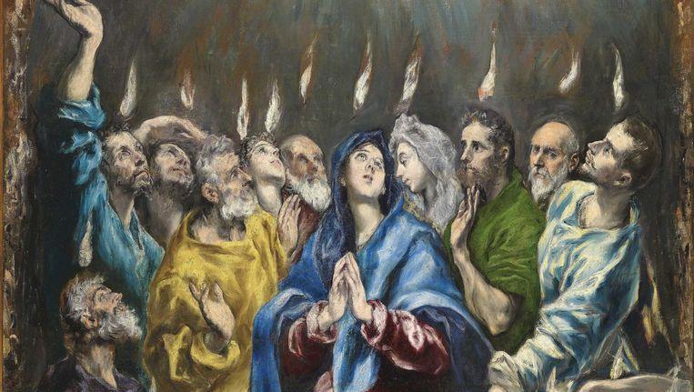 El Greco, Uitstorting van de Heilige Geest
