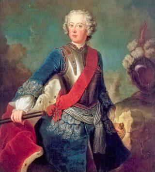 Frederik de Grote als kroonprins door Antoine Pesne (1736)