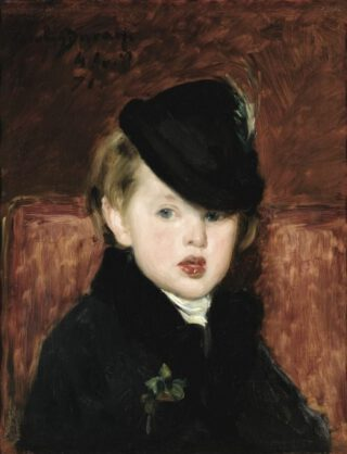 Portret van Louis Ghémar jr door Carolus-Duran 1871