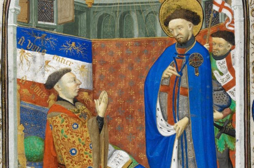 Vijftiende-eeuwse afbeelding van Jan van Bedford